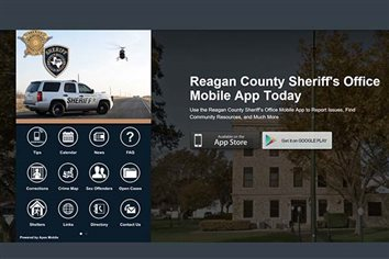 Reagan County Sheriff's Department Launches App