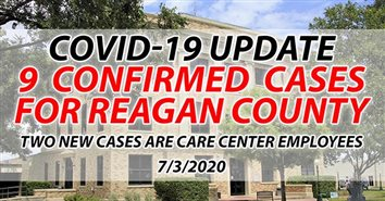 Two More Reagan County Care Center Employees Test Positive for COVID-19